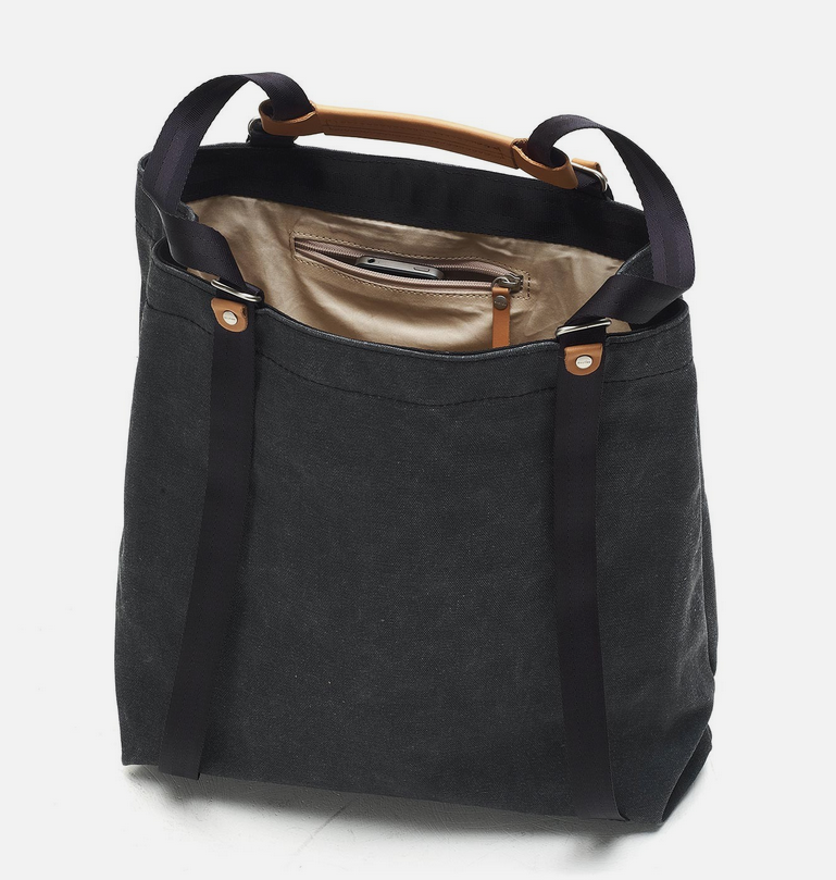 Qwstion Shopper: Washed Black
