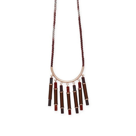 Elke Small Cascade Necklace (EKMM15C)