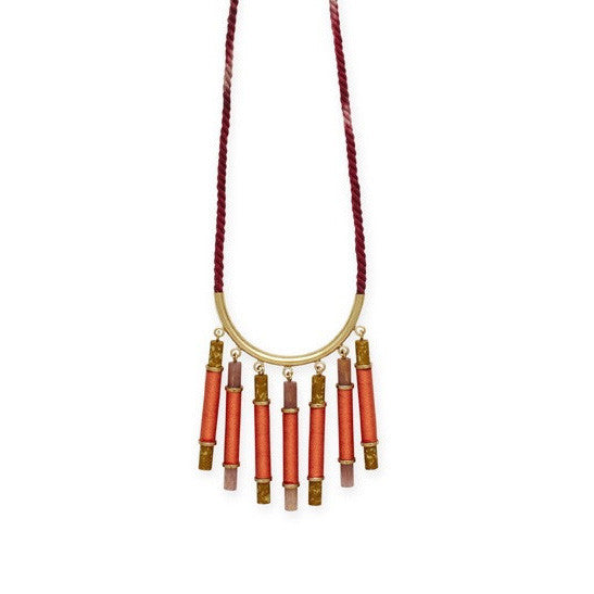 Elke Small Cascade Necklace (EKMM15B)