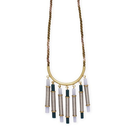 Elke Small Cascade Necklace (EKMM15A)