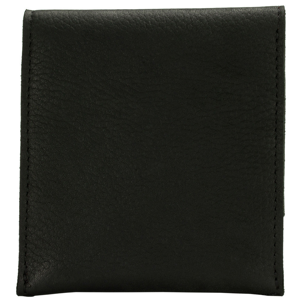 Henson Small Wallet- Black Cow