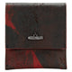 Henson Small Wallet- Black/ Red Kangaroo