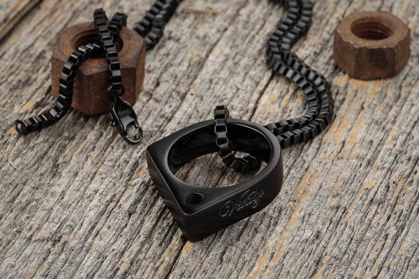 Vitaly Sua Necklace - Matte Black