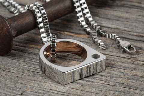Vitaly Sua Necklace - Stainless Steel