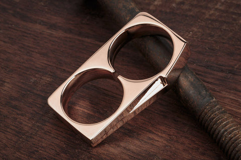 Vitaly Terra Two-Ring - Rose Gold