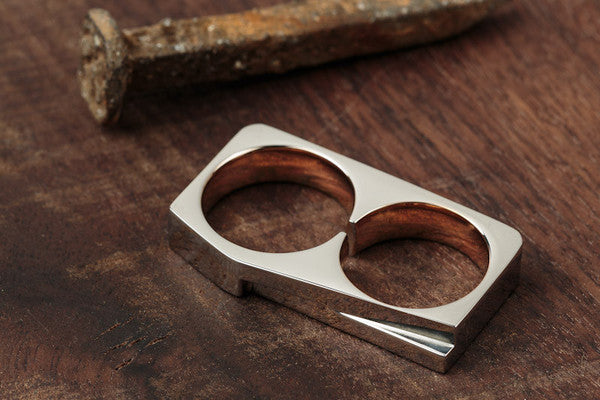 Vitaly Terra Two-Ring - Stainless Steel / Rose Gold