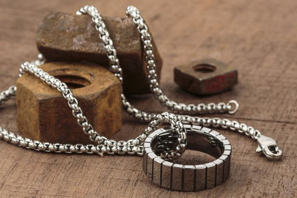 Vitaly Volfram Necklace - Tungsten