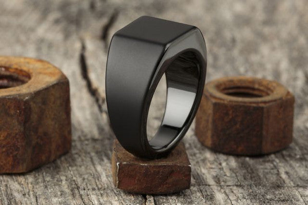 Vitaly Lourd Ring - Matte Black