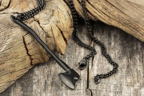 Vitaly Sequoia Necklace - Matte Black