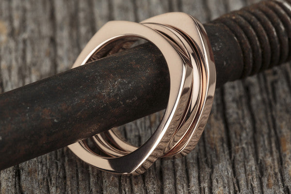 Vitaly Shapes Ring - Rose Gold