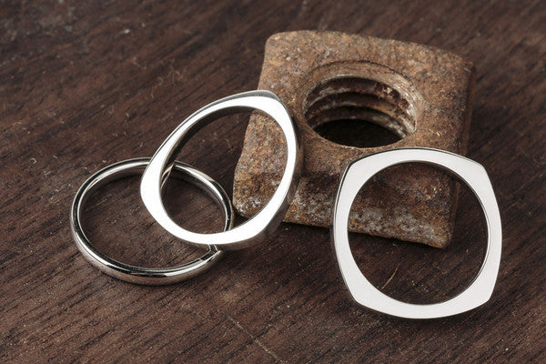 Vitaly Shapes Ring - Stainles Steel