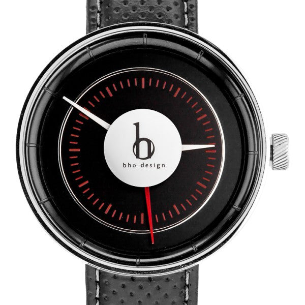 BHO Drive Mark-01 Watch: Maroon Red