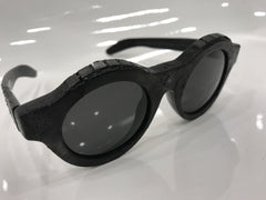 Kuboraum A1 Sunglasses - Ltd. Silver Burnt Inside Mask K0.01