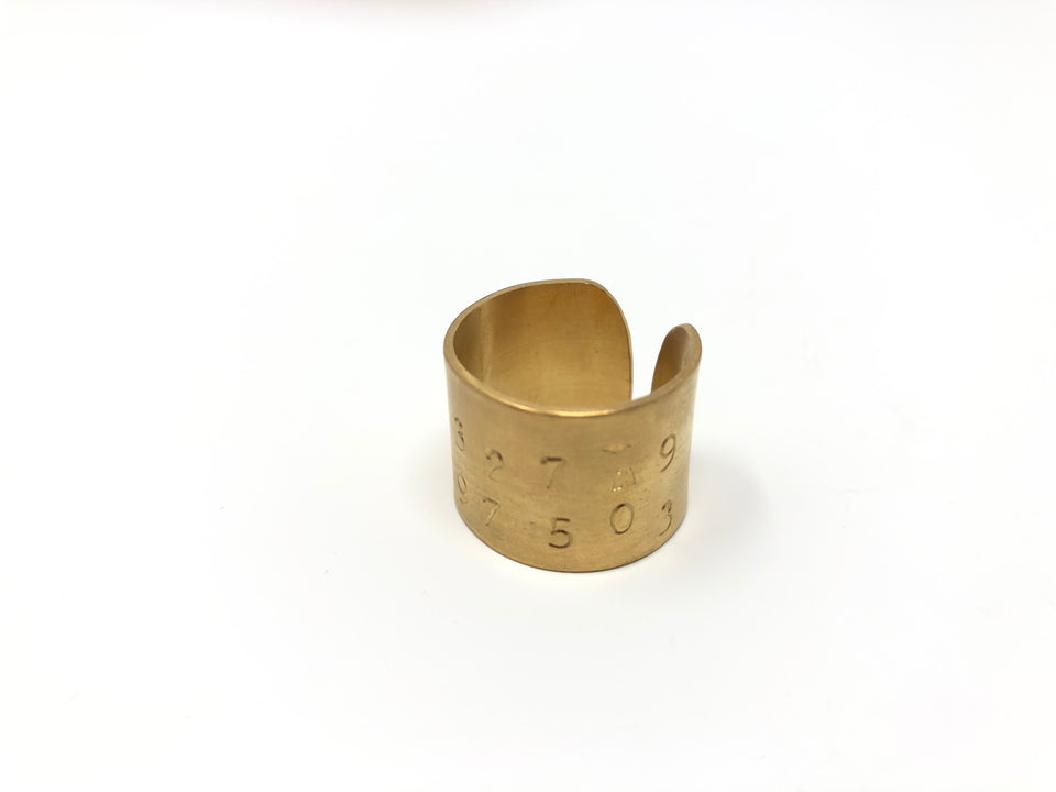 Lucieblanche Gadjo Collection: Gold Plated Ring