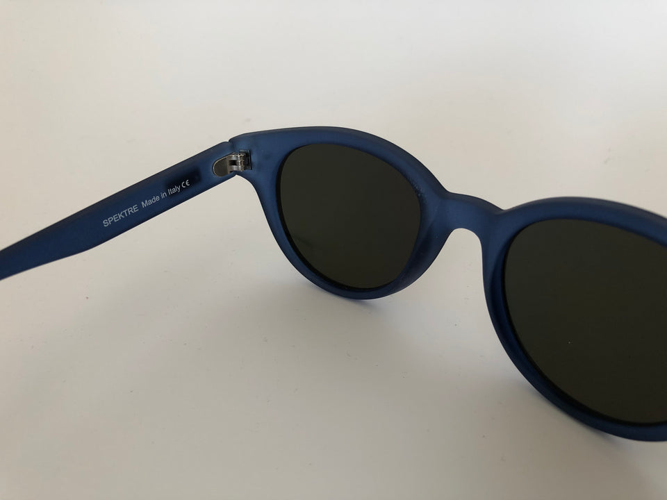 Spektre Vitesse Sunglasses: Matte Blue/Orange Mirror (VIT-B/1)