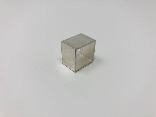 Lucieblanche Square Collection: Gabarit Sterling Silver Ring
