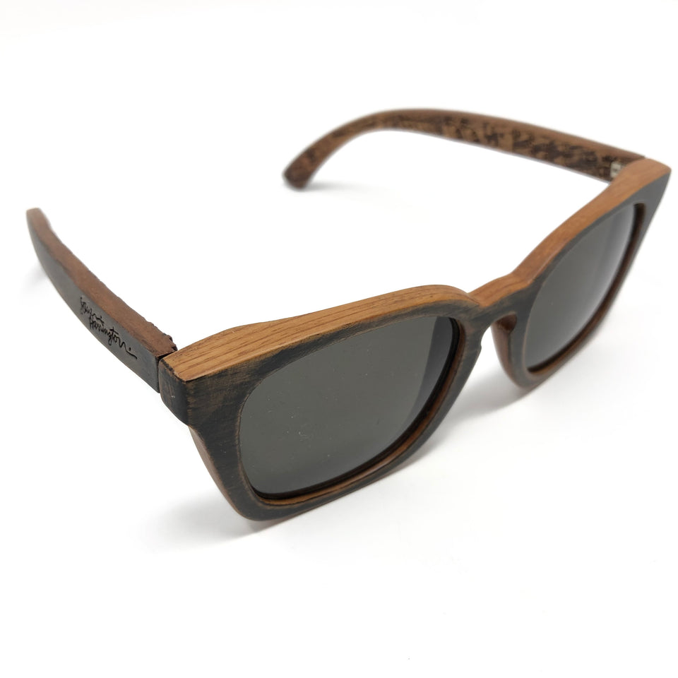 Waiting for the Sun Wood Carving Sunglasses