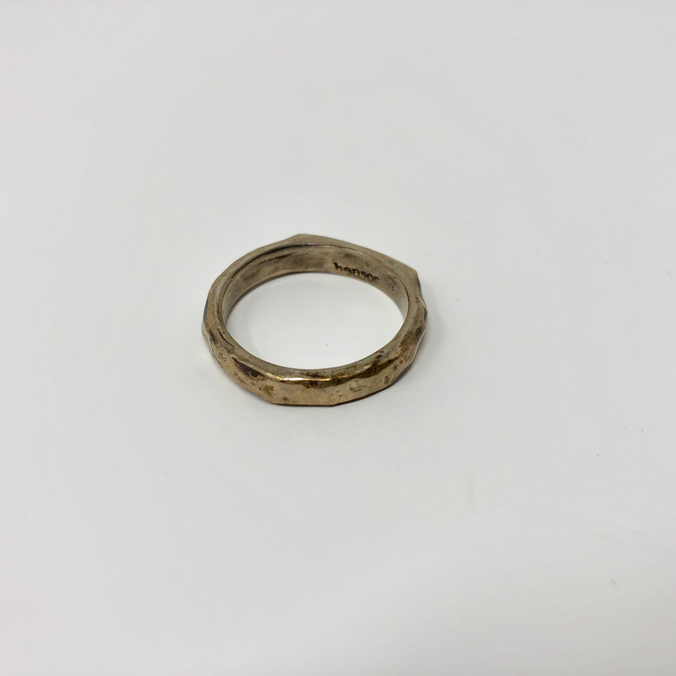 Henson Carved Stacker Ring