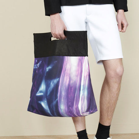 Berthold SS14 Oversize Leather Tote: Canvas Print