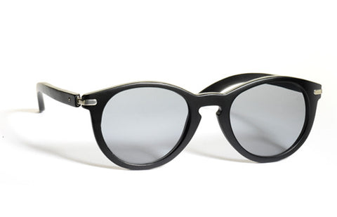 Waiting for the Sun Super Solid Sunglasses: Vintage Black