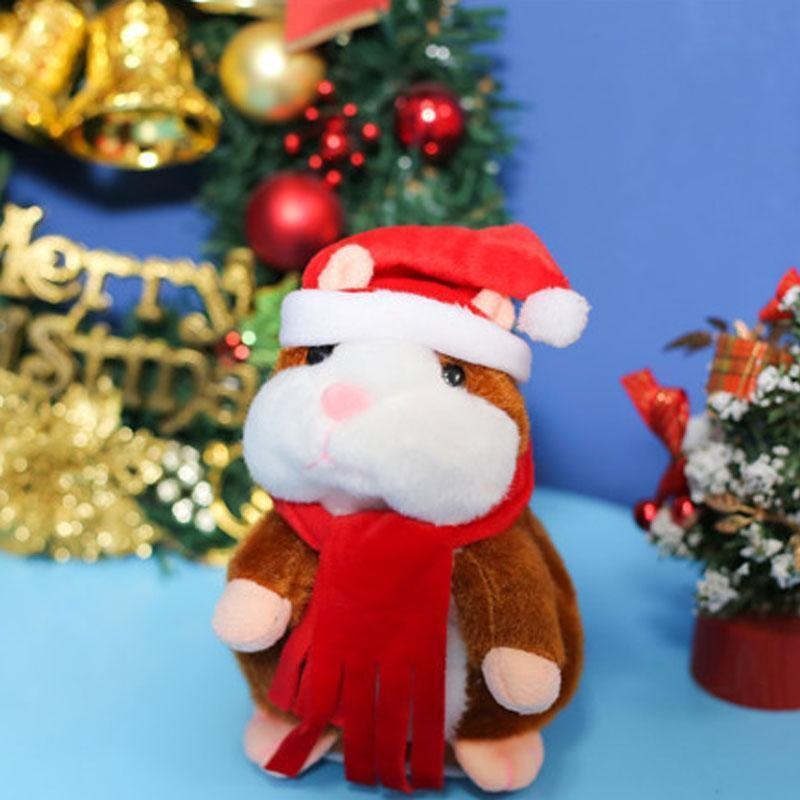 Cheeky Repeating Talking Plush Hamster