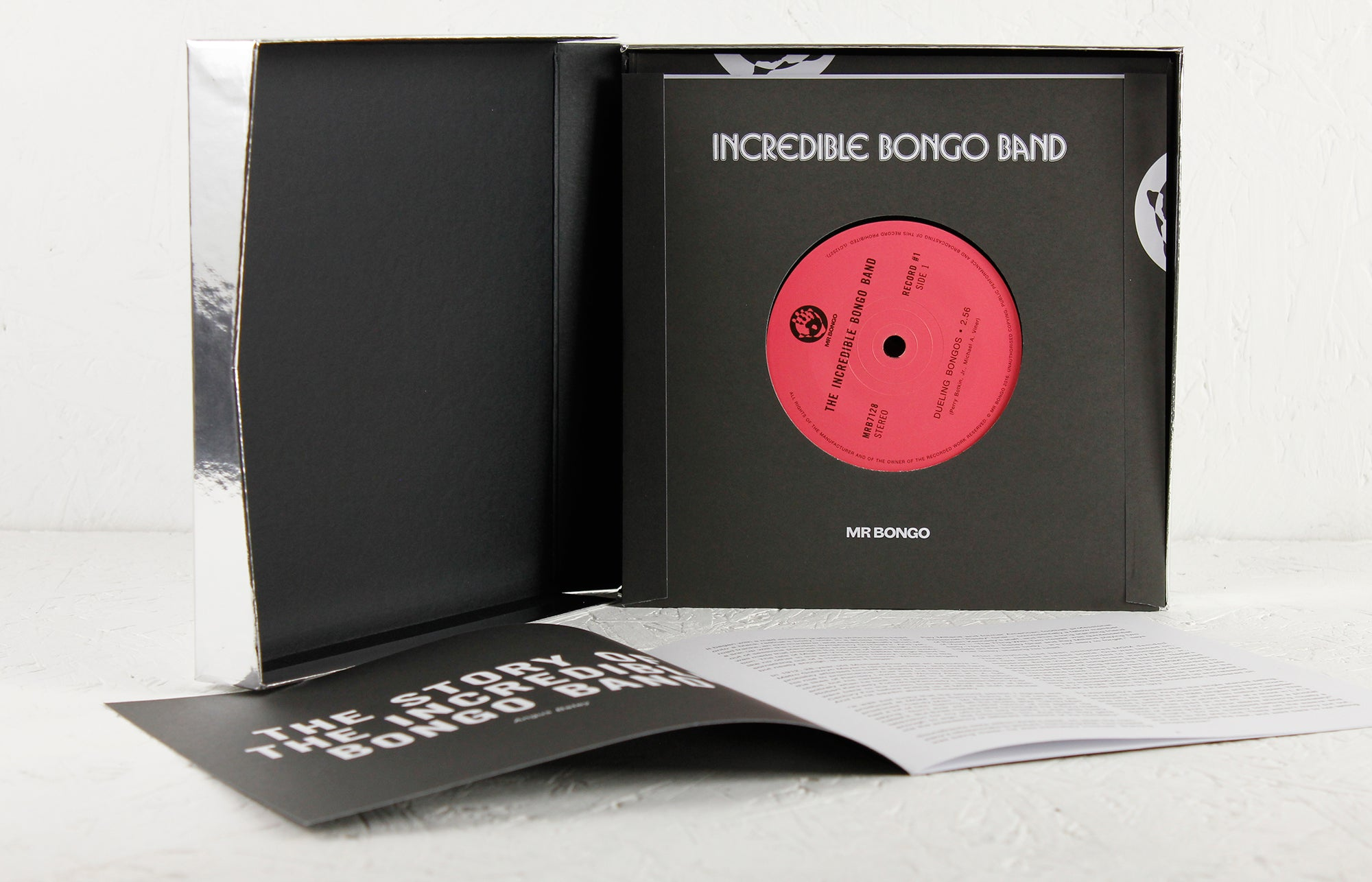 "Incredible Bongo Band 7"" boxset for Record Store Day 2016"