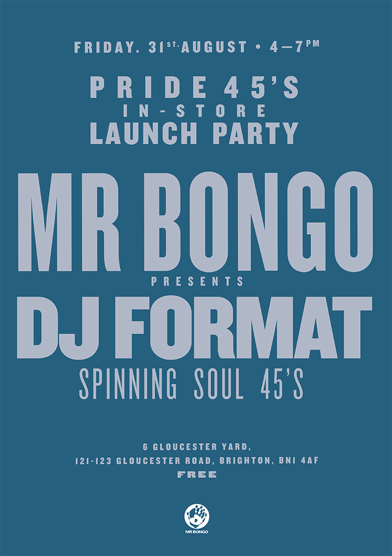 DJ Format in store at Mr Bongo Brighton
