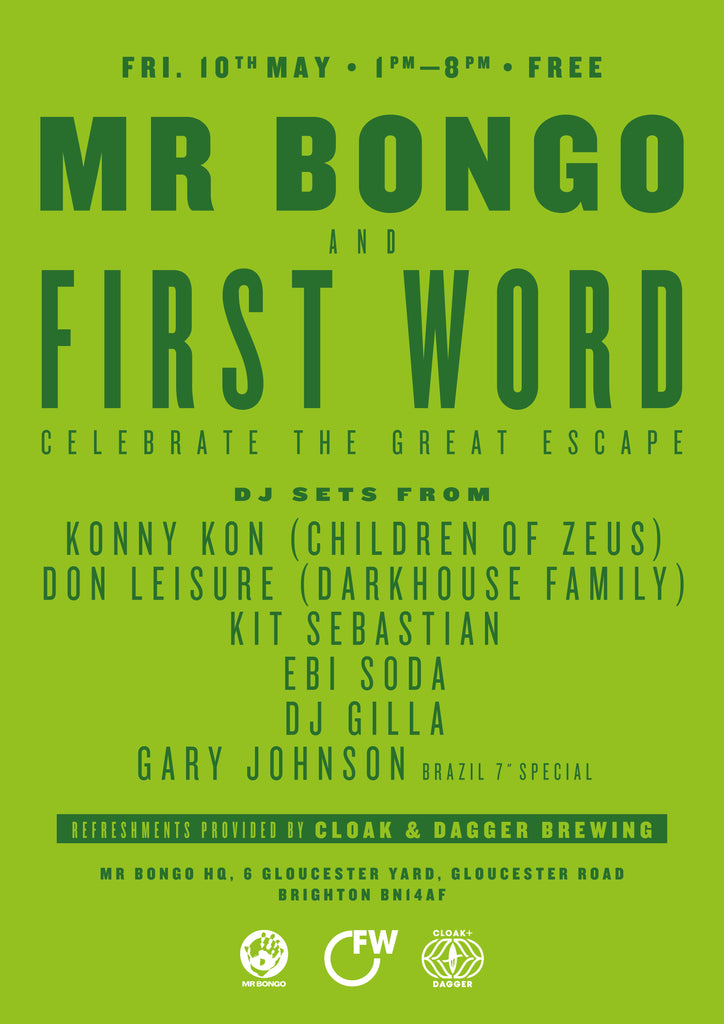 Mr Bongo & First Word with Konny Kon, Don Leisure, Kit Sebastian