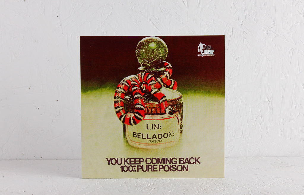 100% Pure Poison ‎– You Keep Coming Back / My Little Someone – 7""