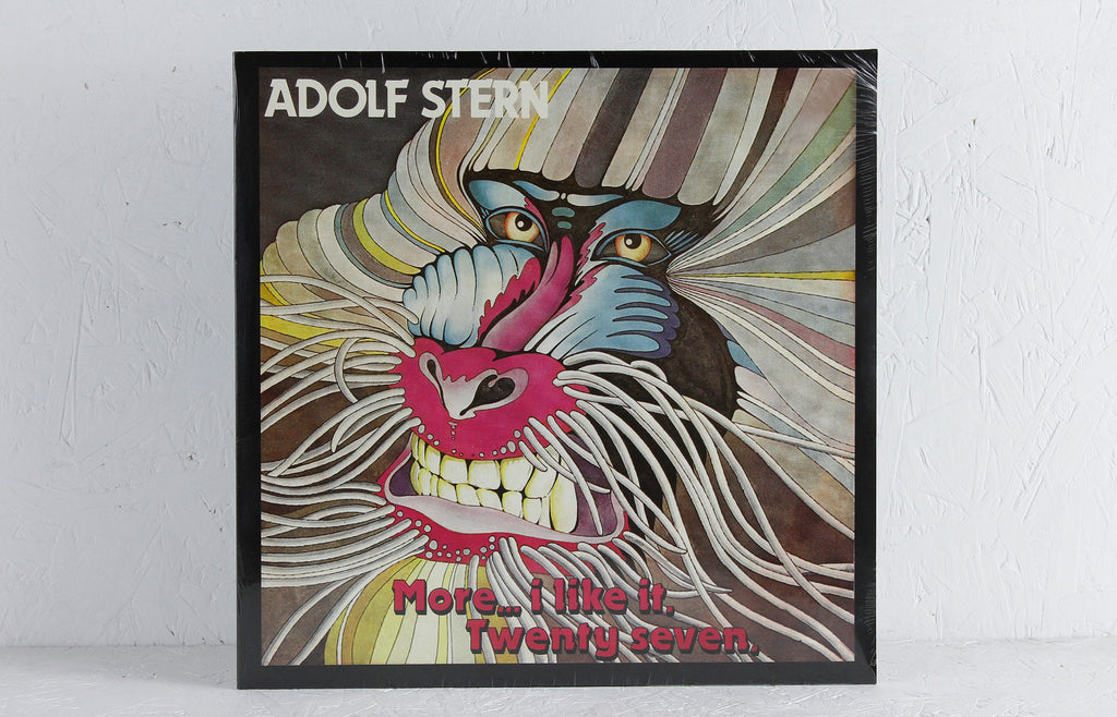 "Adolf Stern ‎– More... I Like It / Twenty Seven – 12"" Vinyl"