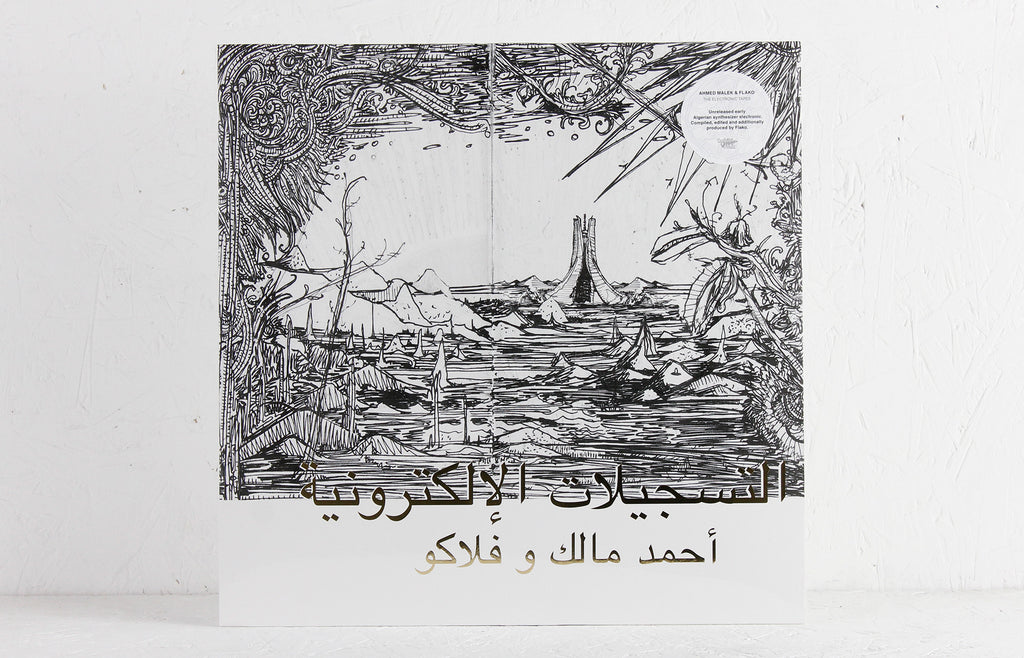 Ahmed Malek & fLako ‎– The Electronic Tapes – Vinyl LP