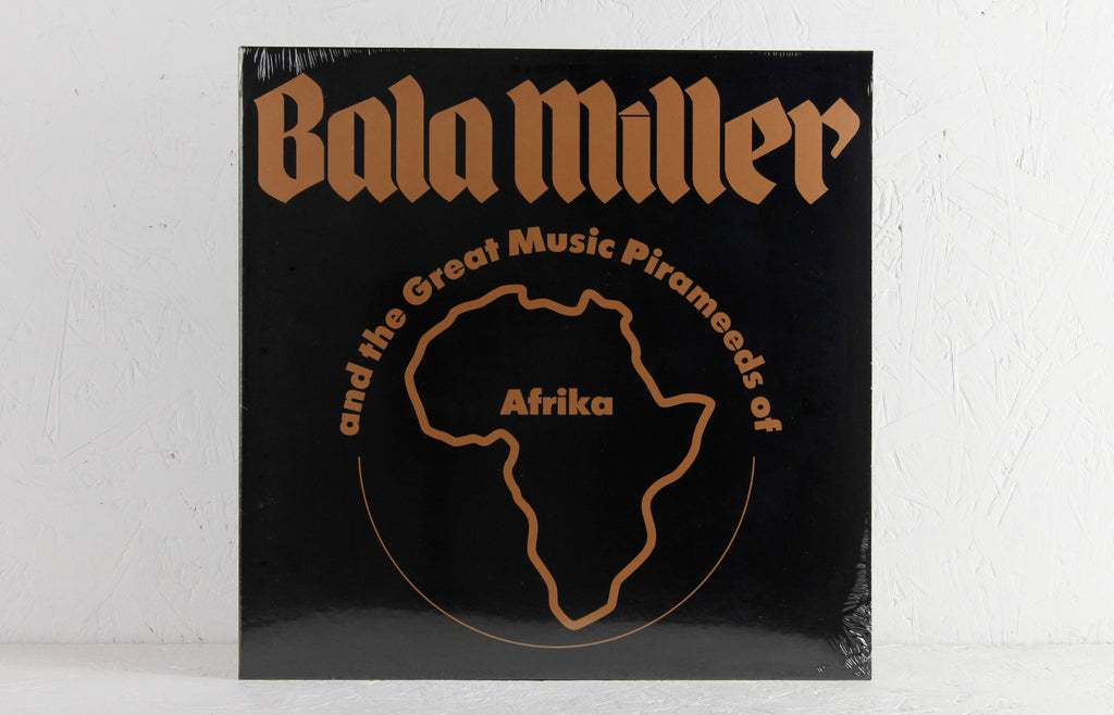 Bala Miller And The Great Music Pirameeds Of Afrika ‎– Pyramids – Vinyl LP