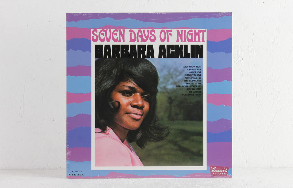 Barbara Acklin – Seven Days Of Night – Vinyl LP