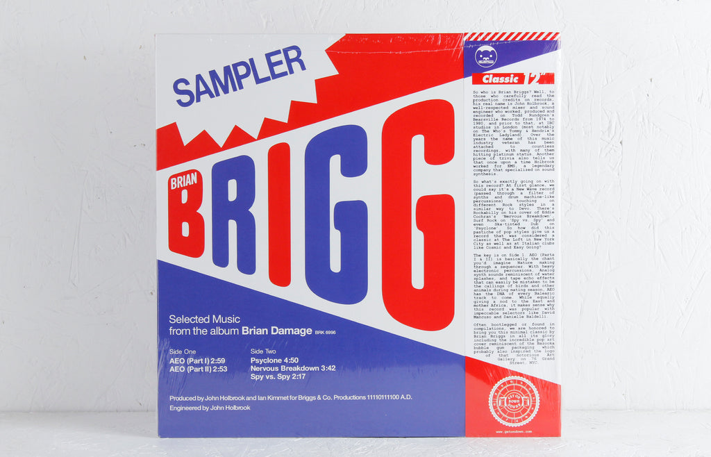 Special Sampler: Selected Music From The Album Brian Damage – Vinyl 12""
