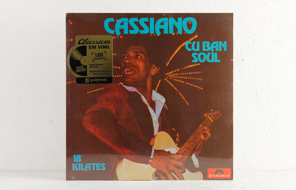 Cassiano ‎– Cuban Soul - 18 Kilates – Vinyl LP