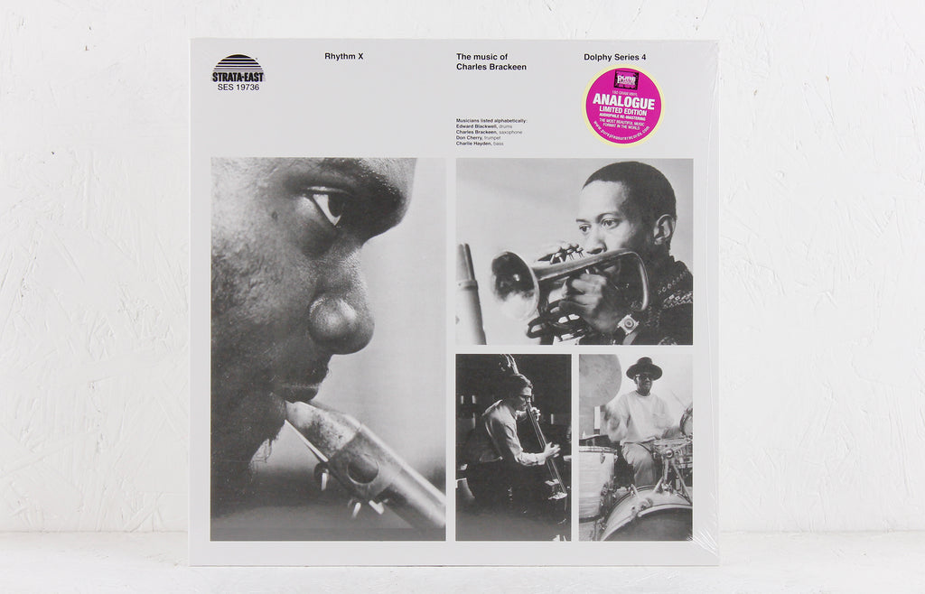 Rhythm X (The Music Of Charles Brackeen) – Vinyl LP
