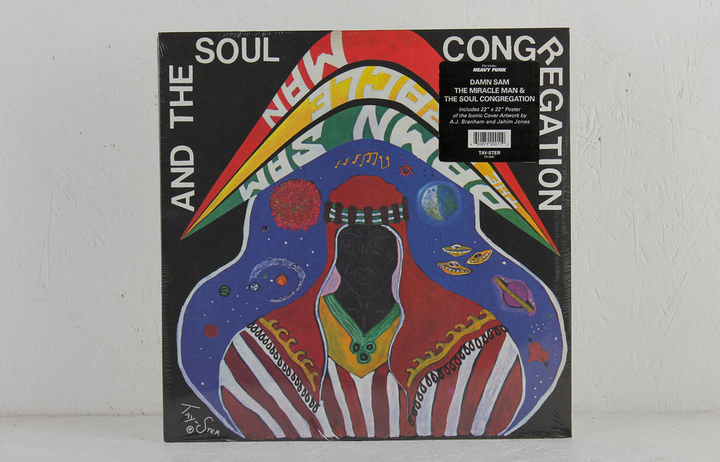 Damn Sam The Miracle Man And The Soul Congregation – Vinyl LP