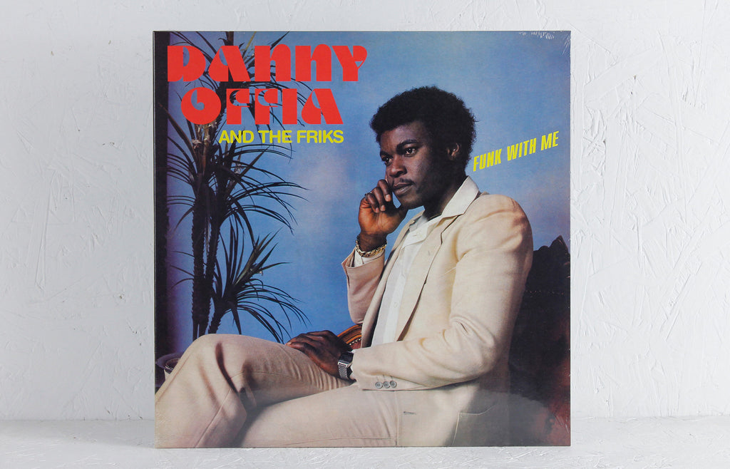 Danny Offia And The Friks ‎– Funk With Me – Vinyl LP