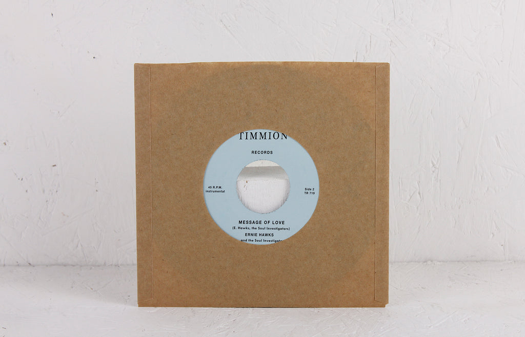 "The Scorpio Walk (Instrumental) / Message Of Love (Instrumental) – 7"" Vinyl"