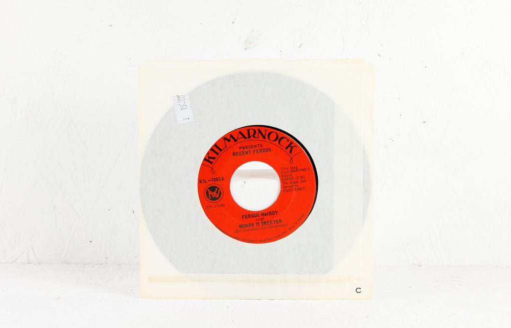 Woman Is Sweeter / Black Street Fair – Vinyl 7""