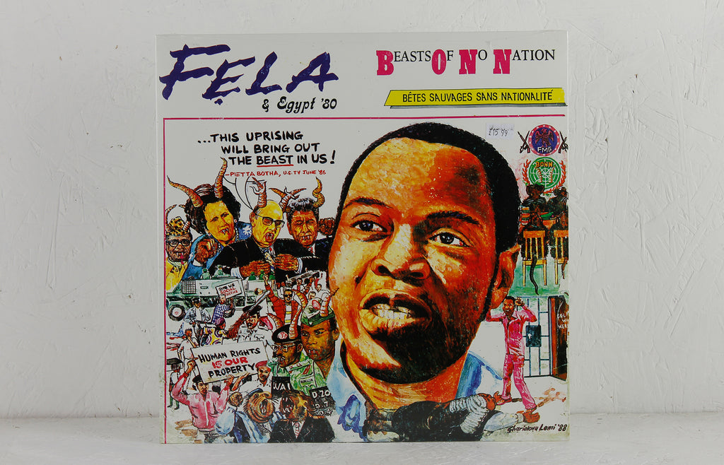Fela Anikulapo-Kuti & Egypt '80 ‎– Beasts Of No Nation – Vinyl LP