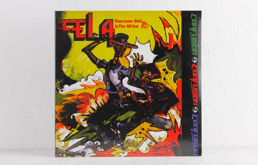 Fela Ransome-Kuti & The Africa 70 ‎– Confusion – Vinyl LP