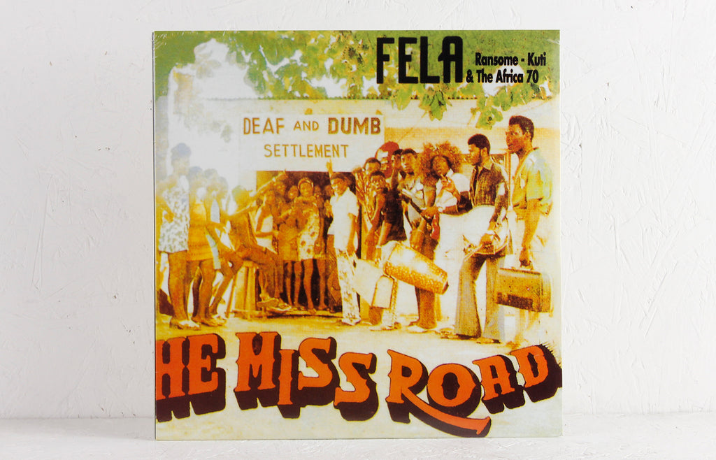 Fela Ransome - Kuti & The Africa 70 ‎– He Miss Road – Vinyl LP