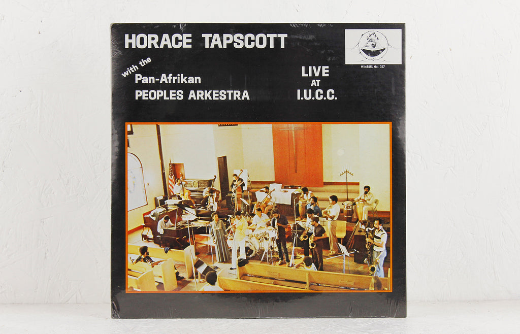 Horace Tapscott With The Pan-Afrikan Peoples Arkestra – Live At I.U.C.C. – Vinyl 2LP