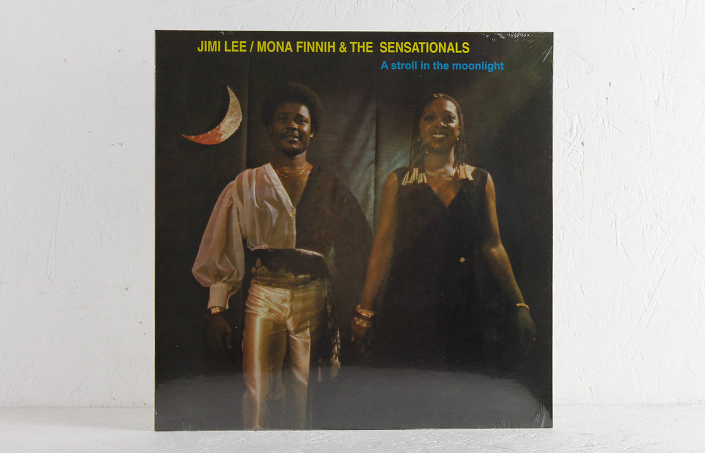Jimi Lee, Mona Finnih & The Sensationals ‎– A Stroll In The Moonlight – Vinyl LP