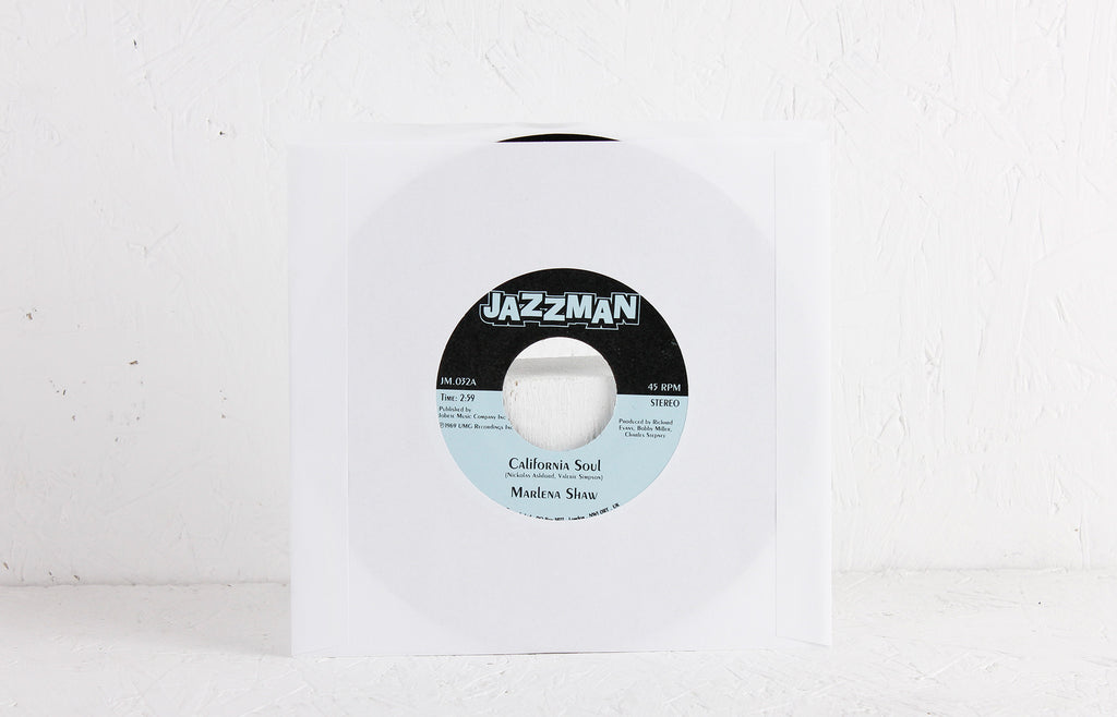 "Marlena Shaw ‎– California Soul / Wade In The Water – 7"" Vinyl"