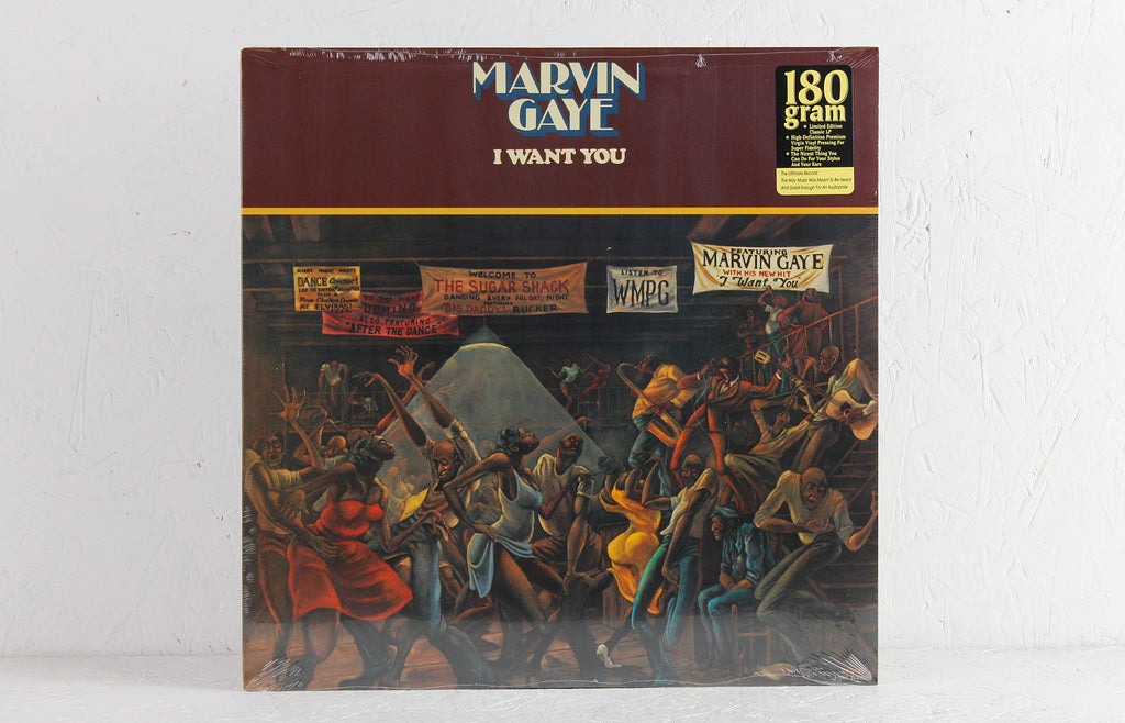 Marvin Gaye ‎– I Want You – Vinyl LP