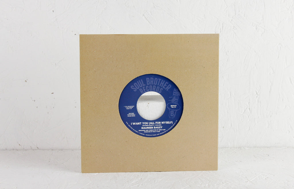 "Takin' My Time With You / I Want You (All For Myself) – 7"" Vinyl"