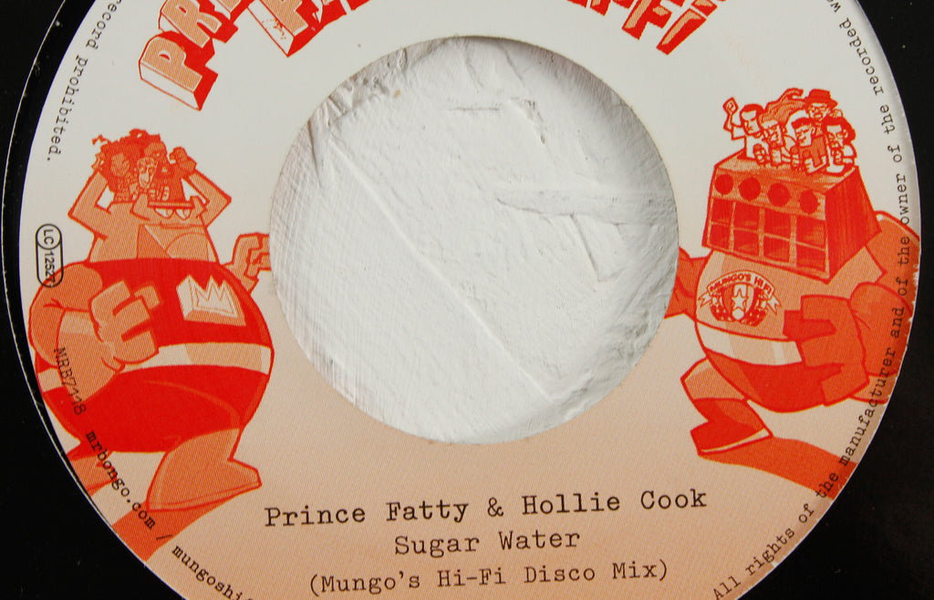 "Hollie Cook – Sugar Water (Mungo's Hi Fi Mix) / (Mungo's Hi-Fi Disco Mix) – 7"" Vinyl"