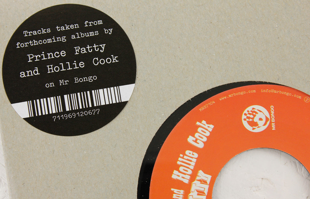 "Prince Fatty – And The Beat Goes On ft. Hollie Cook – 7"" Vinyl"